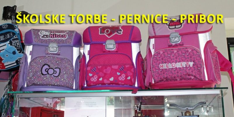 školske torbe - pernice - pribor