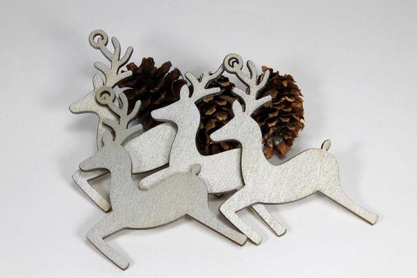 božićna dekoracija - sobovi