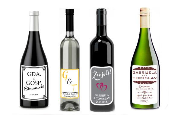 personalizirane boce vina