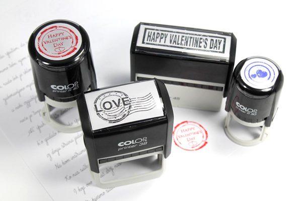 poklon - pečati za valentinovo